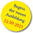 Beginn der neuen Ausbildung: 23.06.2021