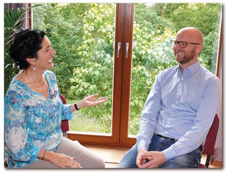 Lichtblick-Coaching-Ausbildung-Coach mit Coachee