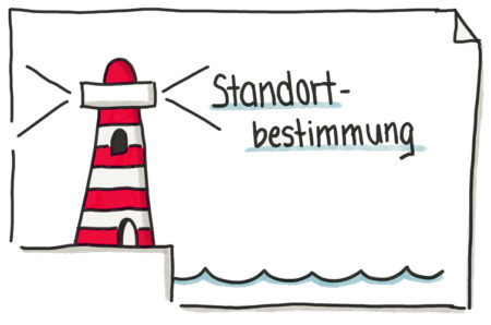 Leuchtturm-Grafik Lichtblick-Seminar Standortbestimmung