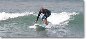 Lichtblick-Foto Das Rad des Lebens - Surfer