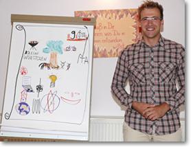 Lichtblick Trainer-Ausbildung Foto Einzelpräsentation