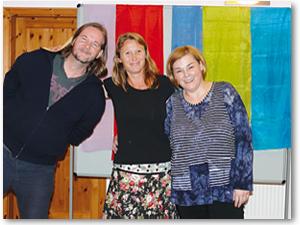 Lichtblick Trainer-Ausbildung Foto Gruppenpräsentation